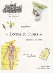 """Juin 2004 - """"Les leçons de choses"""""""