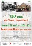 """Mai 2017 - """"Les 130 ans de l'école Jean Macé"""""""