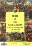 """Affiche exposition """"Histoire de France"""""""